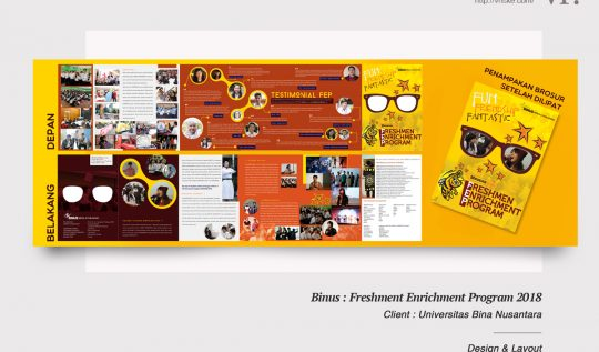 VR.Portfolio : Binus Freshmen Enrichment Program 2018