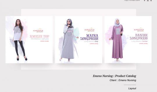 VR.Portfolio : Emeno Nursing Wear