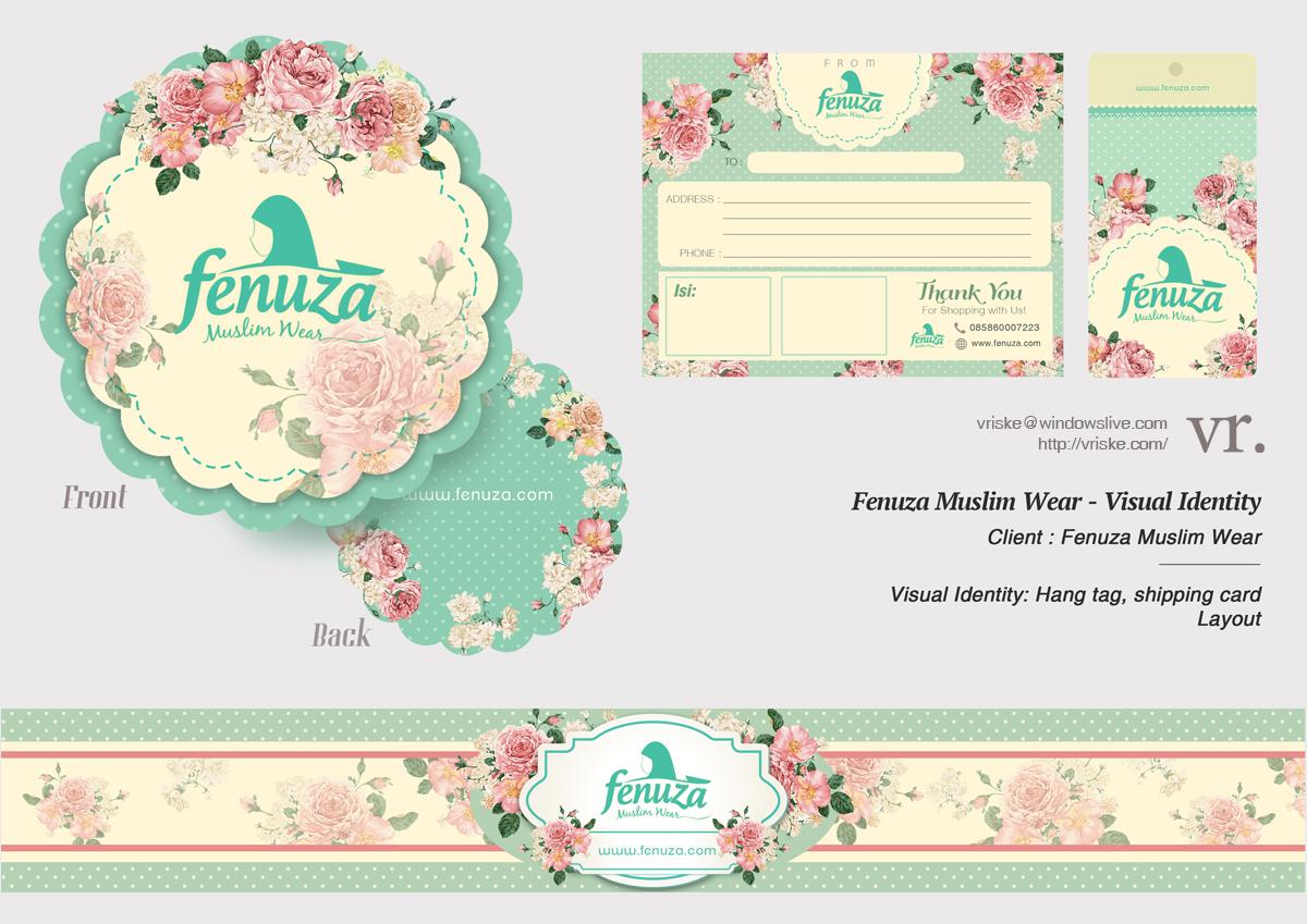 Fenuza Visual Identity