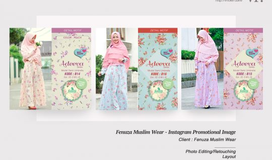 VR.Portfolio : Fenuza Muslimwear