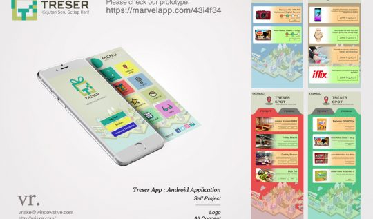 VR.Portfolio : Treser App