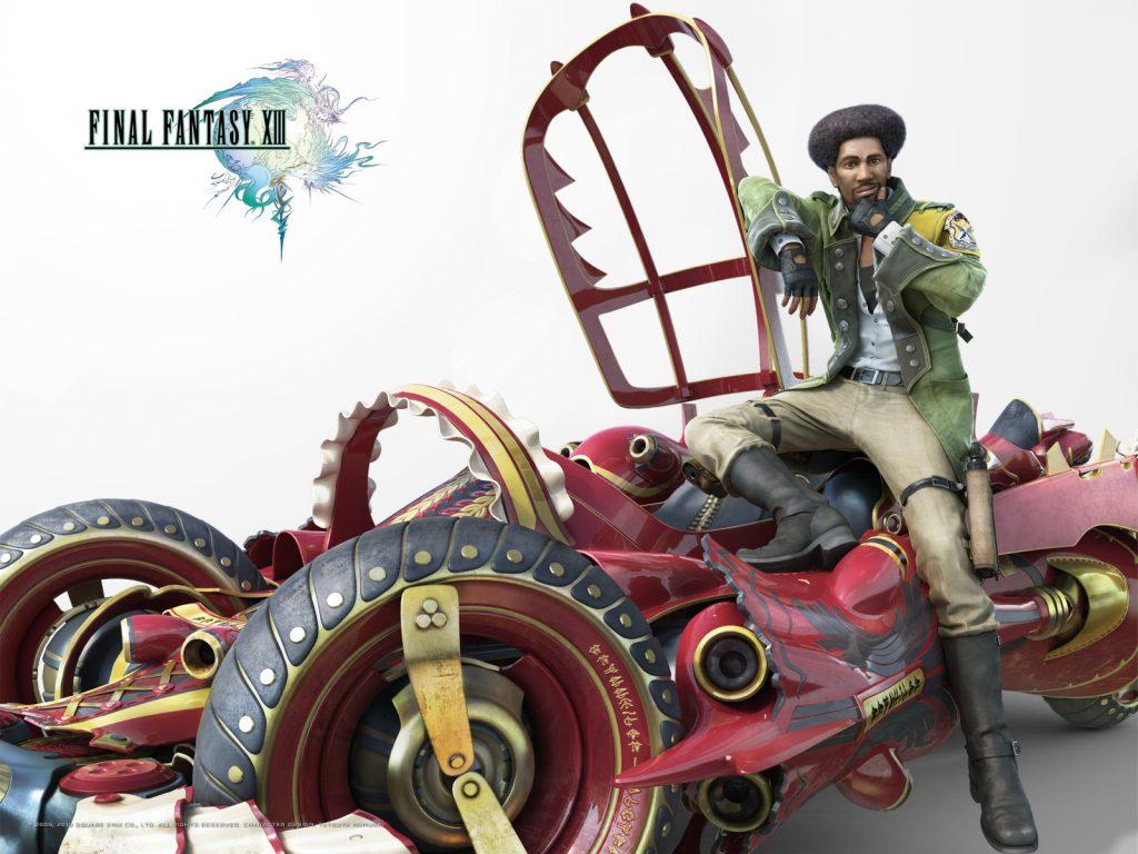 Sazh Final Fantasy XIII