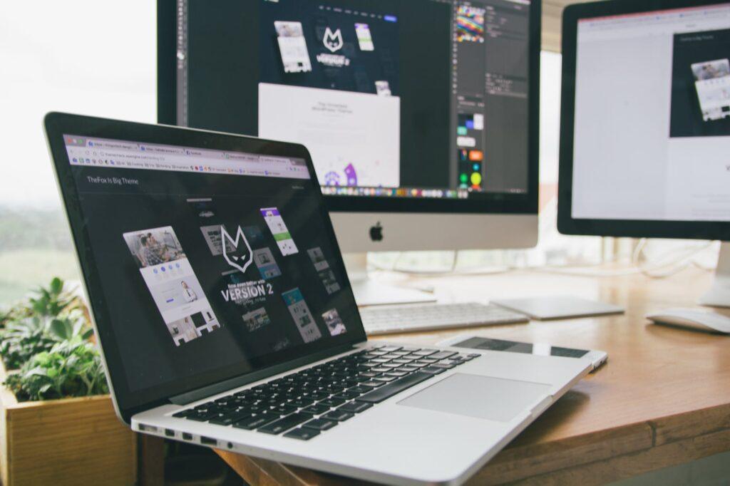 apple apple device design desk