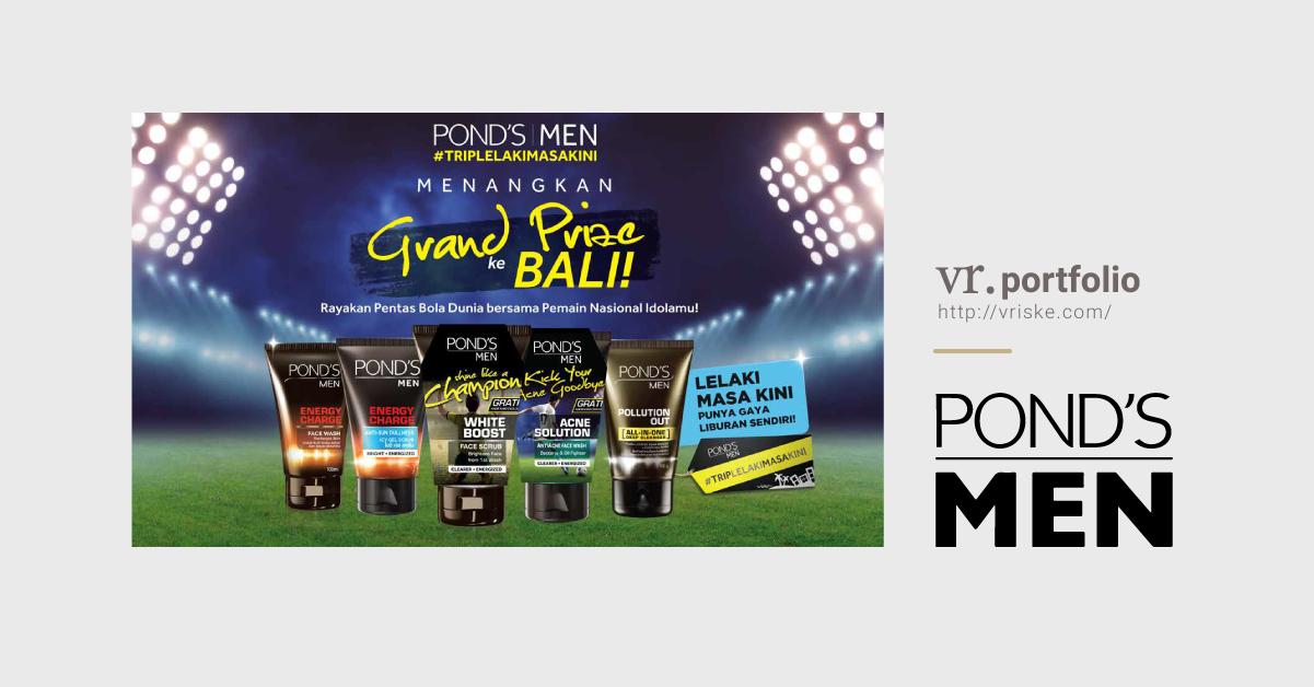 Pond's Men Trip Lelaki Masa Kini Visual Ads