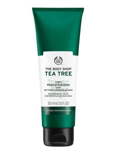 The Body Shop Tea Tree 3-In-1 Wash.Scrub.Mask