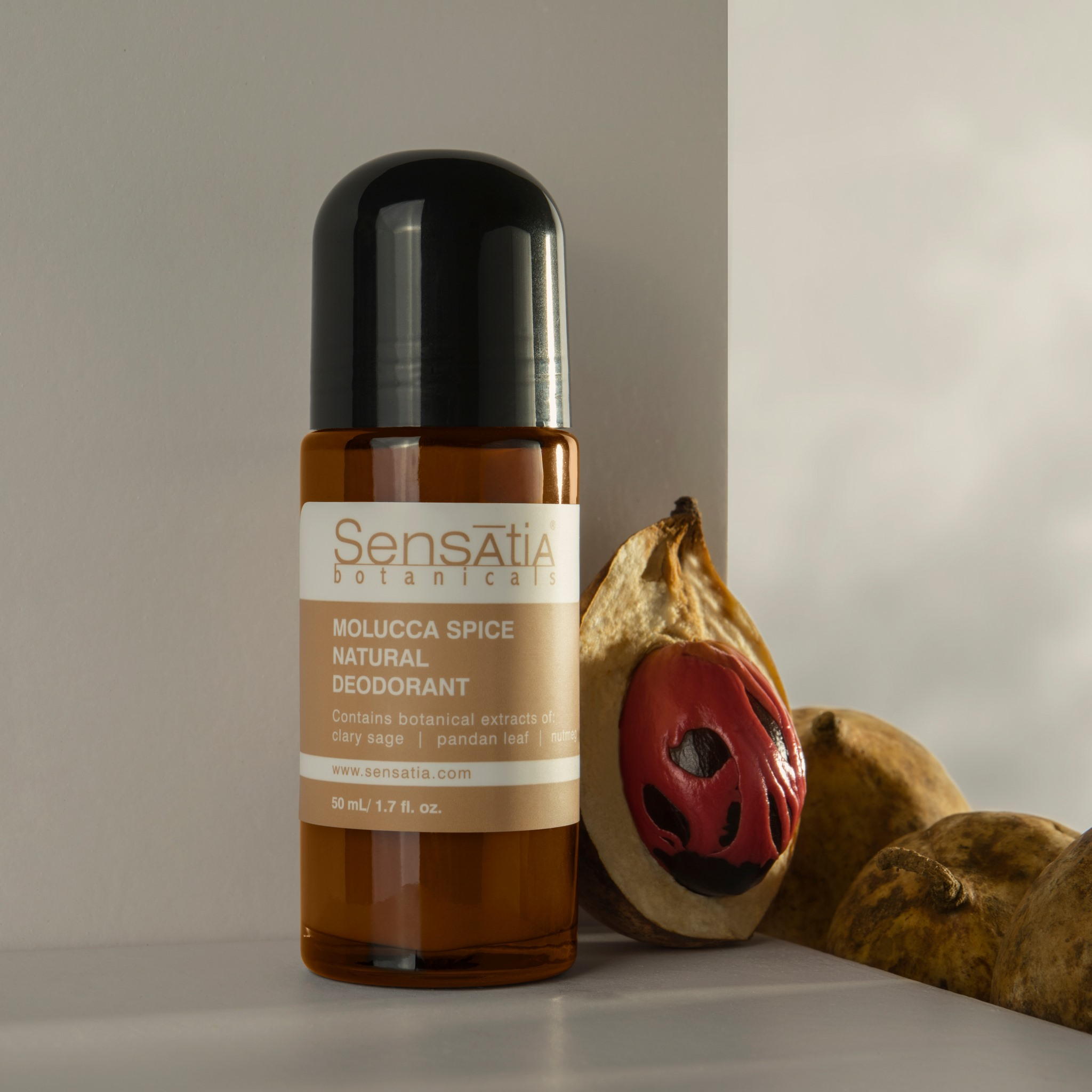 Sensatia Botanicals Molucca Spice Natural Deodorant