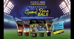 Pons Men #TripLelakiMasaKini Grand Prize ke Bali