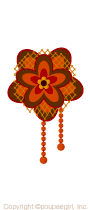 Retro corsage/or