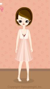 Chiffon dress / pk10D
