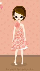 Asymmetry dress / or09K