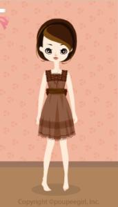 Chocolat dress / br10C