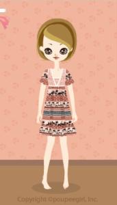Animal motif dress / br10DJ