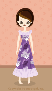 Muumuu long dress / Pr09G