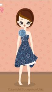 Asymmetry dress / bl09K