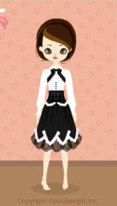 Corset dress / wh10A