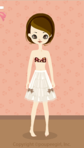 Chocolate skirt / wh10CJ