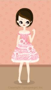 Happy June Bride 2009 - Marshmallow mini dress / 09F