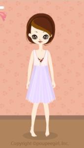 Chiffon dress / pr10D