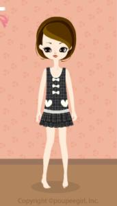 Low waist dress / gr09IJ