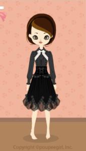 Corset dress / bk10A