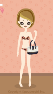 Studded basket bag / nv10DJ