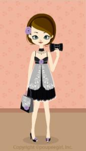 Lace lucky bag / bk09HJ