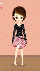 Punk belt dress / rd10A