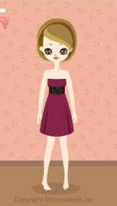 Check Bare Dress / Pr09I