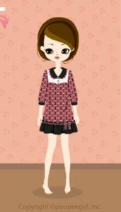 Dot dress / pk09K