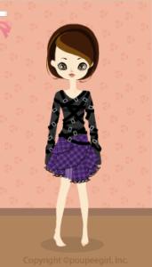 Punk belt dress / pr10A