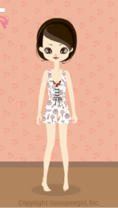 Cosmetics pattern all-in-one / Wh10CJ