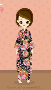Kimono-gorgeous / 10A
