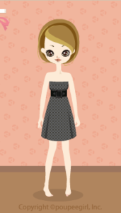 Check Bare Dress / Gr09I