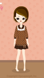 Dot dress / br09K