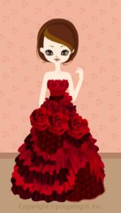 Happy June Bride 2009 - Rose dress / 09F