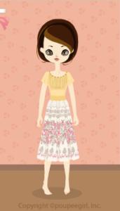 Cutover dress / yw10D