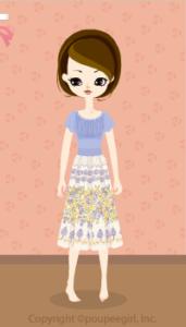 Cutover dress / bl10D