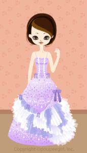 Happy June Bride 2009 - Chandelier dress / 09F
