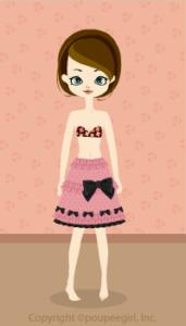 Ribbon skirt / 09HJ