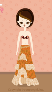 Ethnic skirt / or10CJ