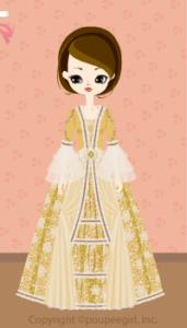 Gorgeous dress / gl09IJ
