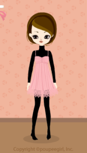 Lacy fairy dress / pk09KJ
