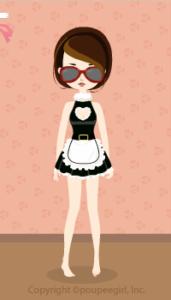 Heart Santa Dress / Bk09LJ
