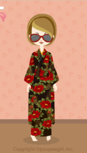Kimono-peony / 10A