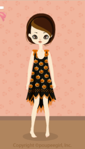 Pumpkin dress / 09J