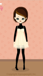 Lacy fairy dress / wh09KJ