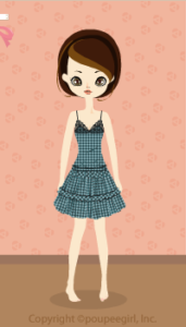 Gingham Check Dress / gn10B