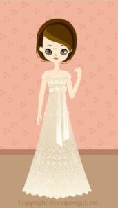 Happy June Bride 2009 - Empire dress / 09F