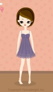 Lacy fairy dress / pr09KJ