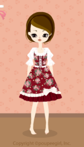 Flower dress / rd10BJ